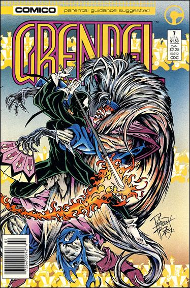 Grendel (1986) 7-A by Comico