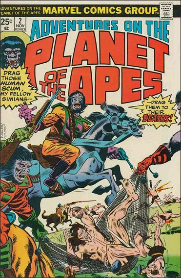 Adventures on the Planet of the Apes 2-A by Marvel