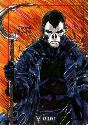2013 Valiant Comics Preview Trading Card Set (Sketch Card Subset) JBul-11-A