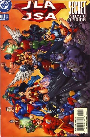 JLA/JSA Secret Files &amp; Origins 1-A by DC