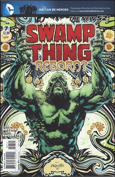 Swamp Thing (2011) 7-A by DC