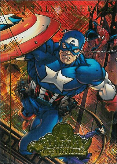 2008 Marvel Masterpieces: Series 2 (Avengers Subset) A2-A by Fleer