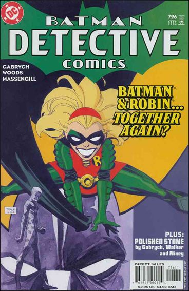 Detective Comics (1937) 796-A by DC