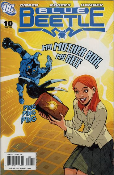 Blue Beetle (2006) 10-A by DC