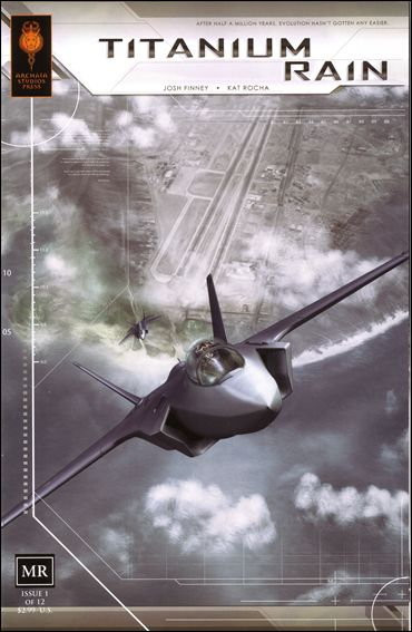 Titanium Rain 1-A by Archaia Studios Press