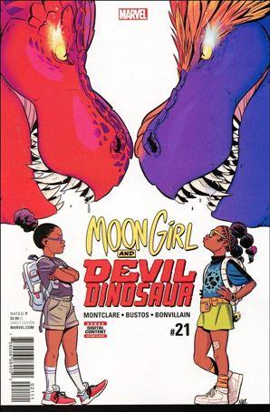 Moon Girl and Devil Dinosaur 21-A