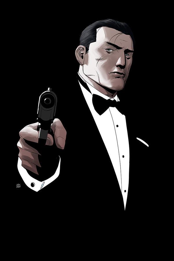 James Bond 007 7-F by Dynamite Entertainment