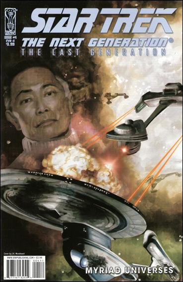 Star Trek: The Next Generation: The Last Generation 4-A by IDW