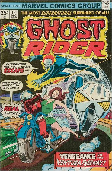 Ghost Rider (1973) 15-A by Marvel