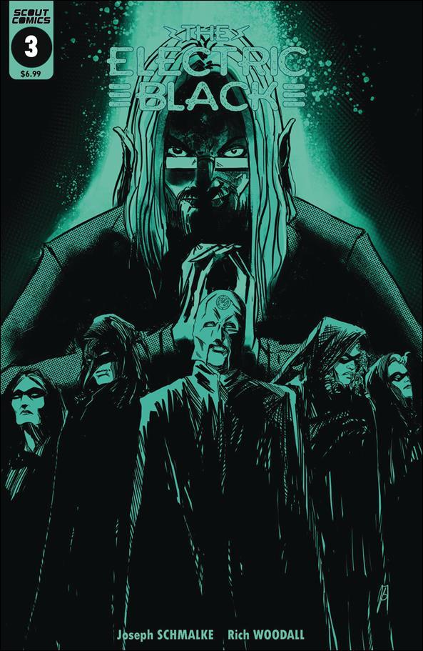 Electric Black 3-B by Scout Comics