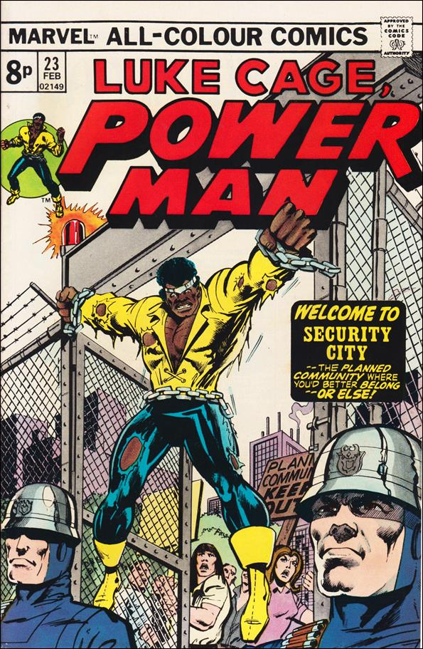 Power Man 23-B by Marvel