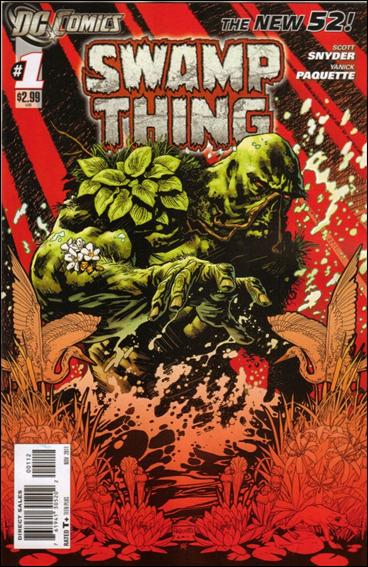 Swamp Thing (2011) 1-B by DC