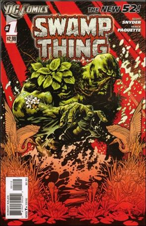 Swamp Thing (2011) 1-B