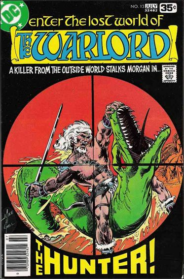 Warlord (1976) 13-A by DC