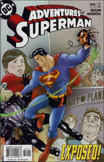 Adventures of Superman (1987) 640-A by DC