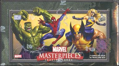 2007 Marvel Masterpieces 1-A by Upper Deck