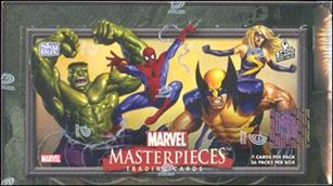 2007 Marvel Masterpieces 1-A