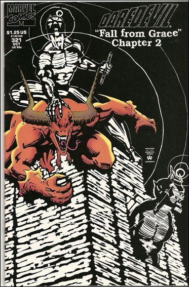 Daredevil (1964) 321-B by Marvel