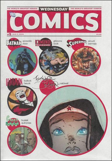 Wednesday Comics 5-A by DC