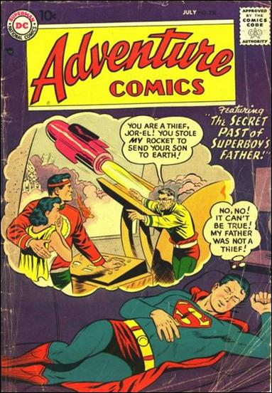 Adventure Comics (1938) 238-A by DC