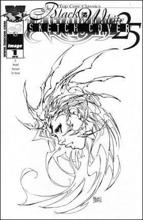 Top Cow Classics in Black and White: Witchblade 25-B by Top Cow