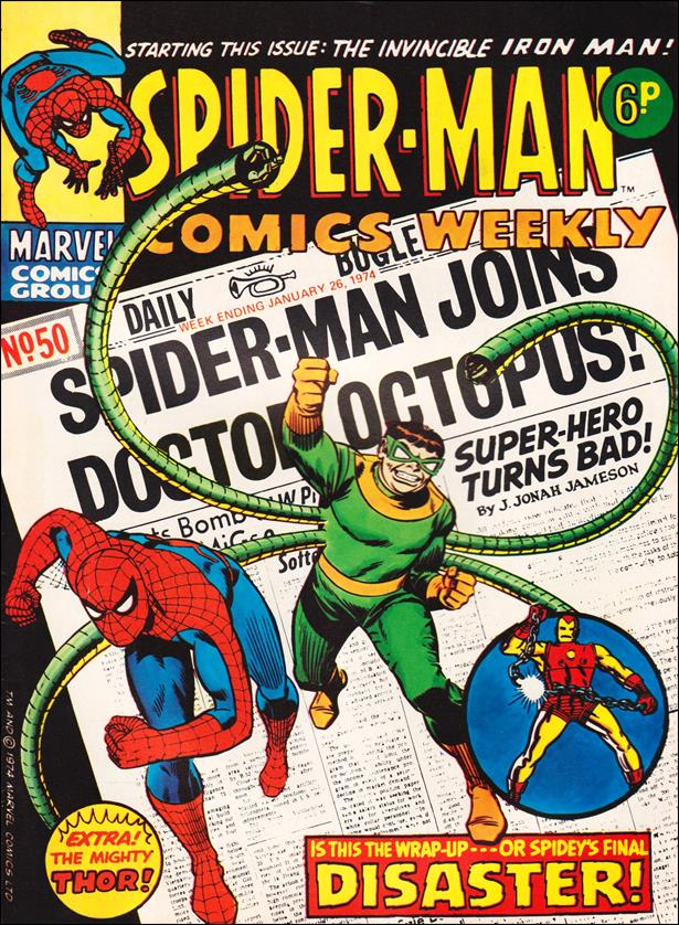 Spider-Man: Comics Weekly (UK) 50-A by Marvel UK