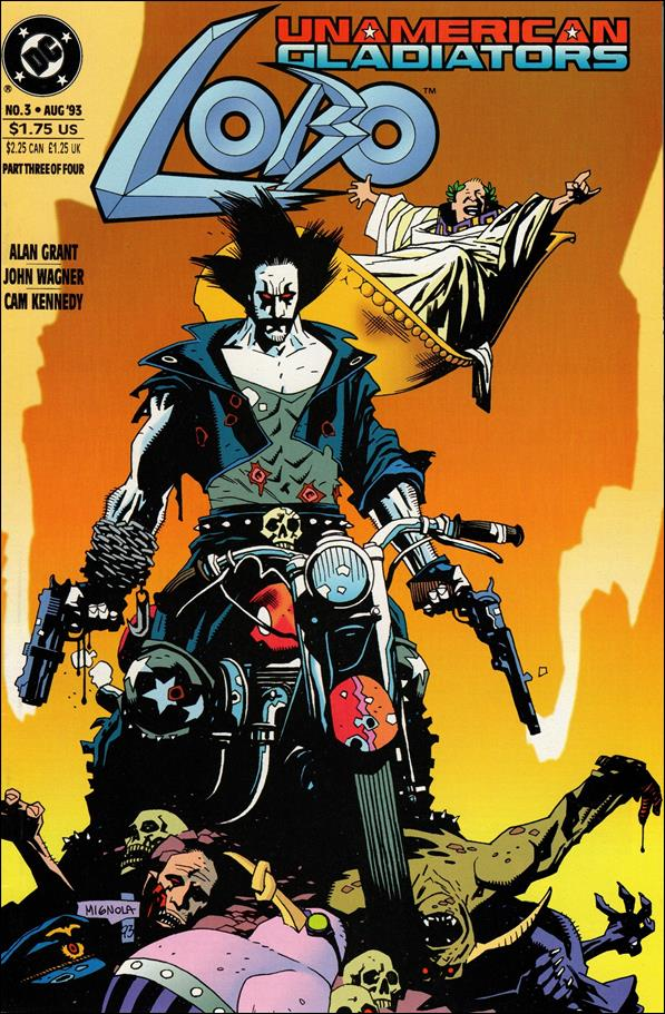 Lobo: Un-American Gladiators 3-A by DC
