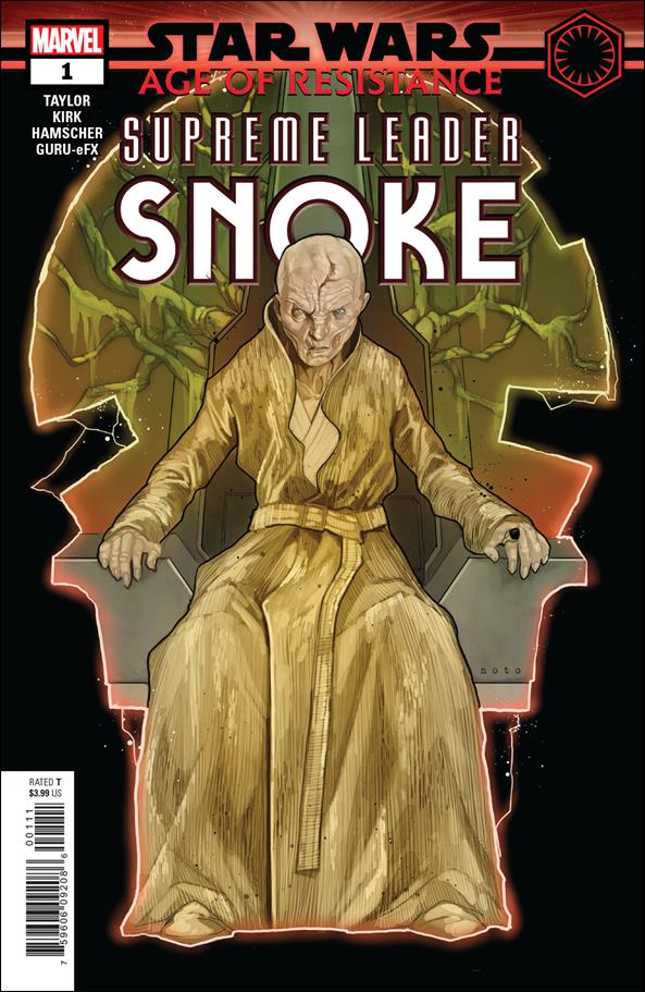 Star Wars: Age of Resistance - Supreme Leader Snoke 1-A by Marvel