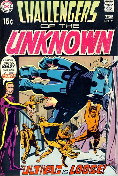 Challengers of the Unknown (1958) 75-A by DC