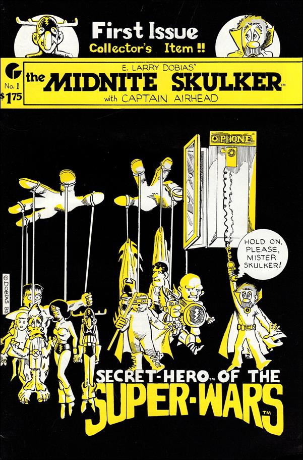 Midnite Skulker 1-A by Target Comics