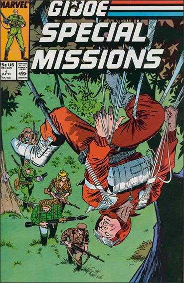 G.I. Joe: Special Missions (1986) 4-A by Marvel