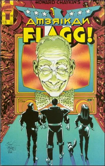 Howard Chaykin's American Flagg!  12-A by First