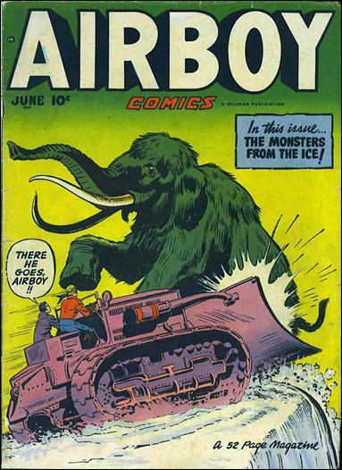 Airboy Comics (1950) 5-A by Hillman