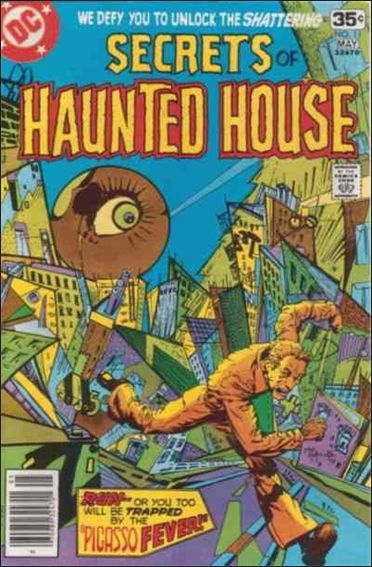 Secrets of Haunted House 11-A by DC