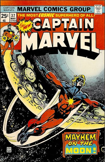 Captain Marvel (1968) 37-A by Marvel