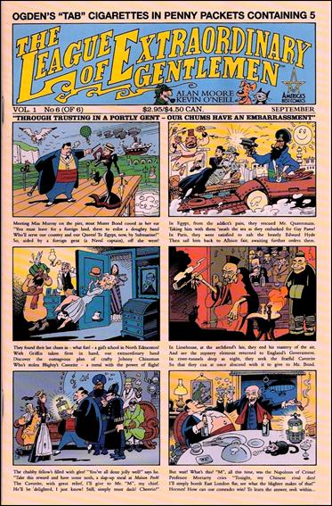 League of Extraordinary Gentlemen (1999) 6-A by America's Best Comics