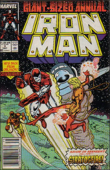 Iron Man Annual 9-A by Marvel