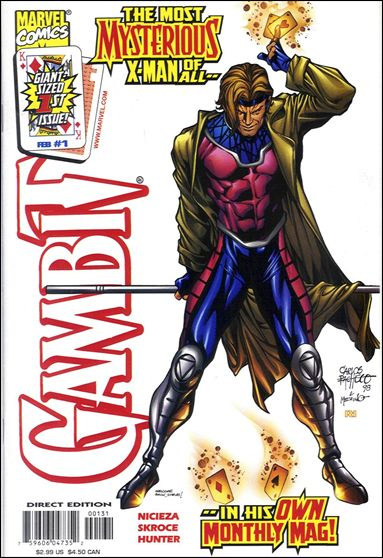 Gambit (1999) 1-D by Marvel