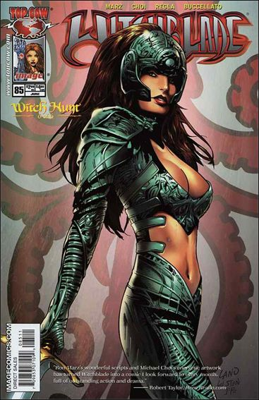 Witchblade 85-A by Top Cow