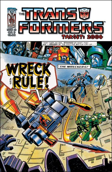 Transformers: Target 2006 3-B by IDW