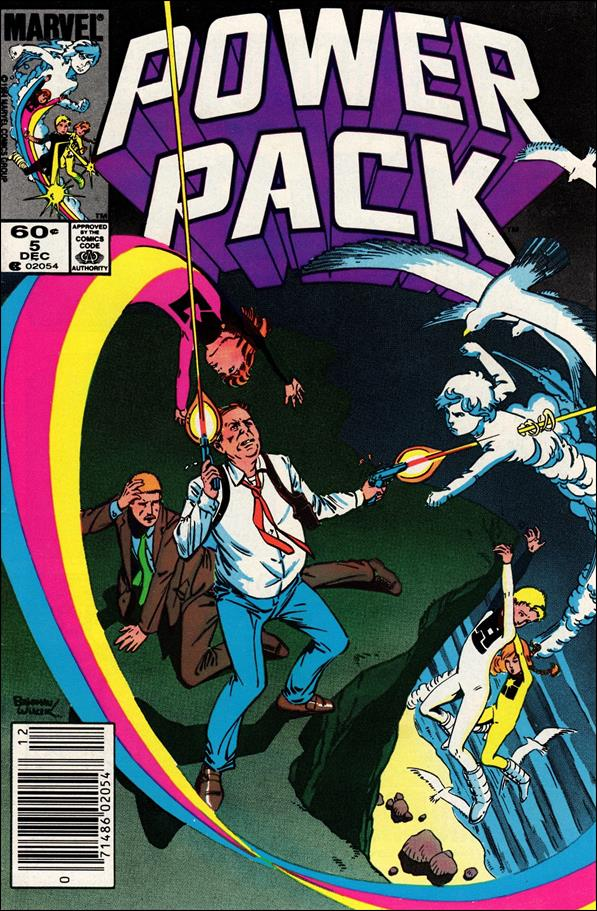 Power Pack (1984) 5-A by Marvel