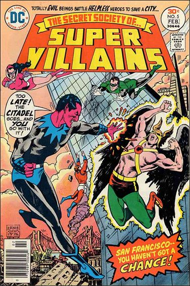 Secret Society of Super-Villains 5-A by DC