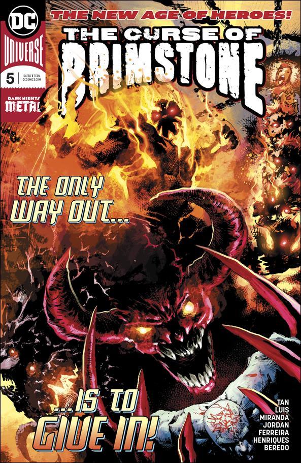 Curse of Brimstone 5-A by DC