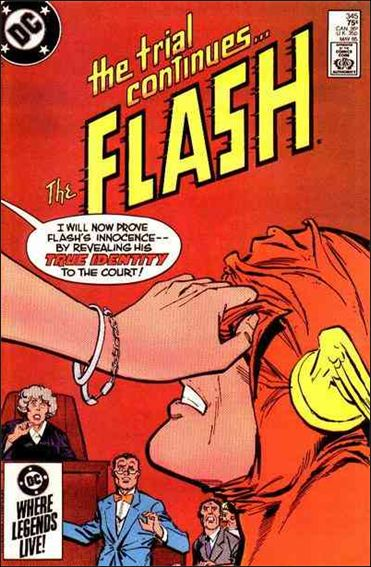 Flash (1959) 345-A by DC