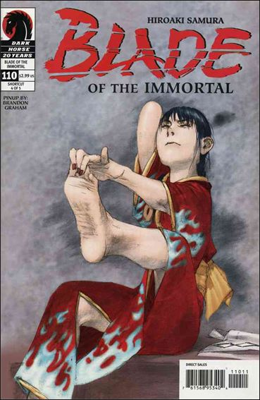Blade of the Immortal 110-A by Dark Horse