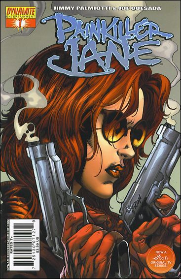 Painkiller Jane (2007) 1-A by Dynamite Entertainment