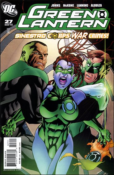 Green Lantern (2005) 27-A by DC