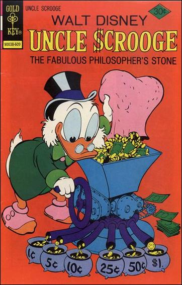 Walt Disney's Uncle Scrooge 132-A by Gemstone
