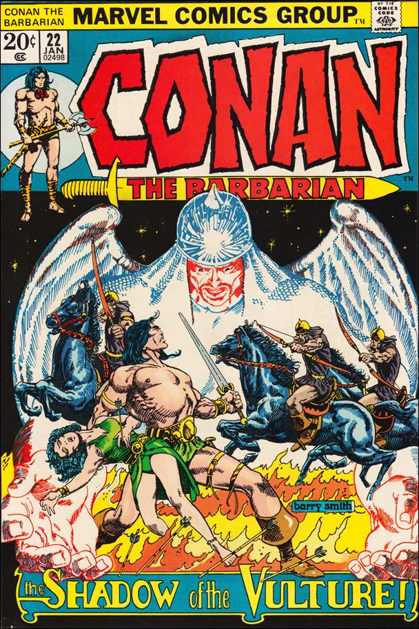 Conan the Barbarian (1970) 22-A by Marvel