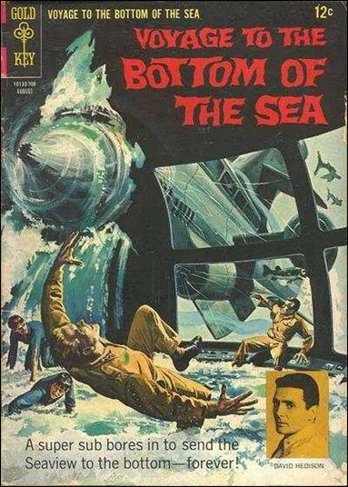 Voyage to the Bottom of the Sea 9-A by Gold Key